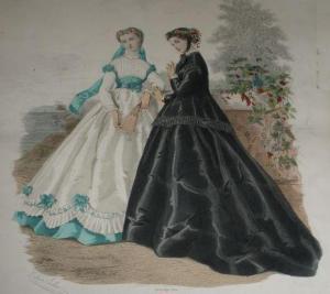 Fashion Plate, 1866, Barrington House.