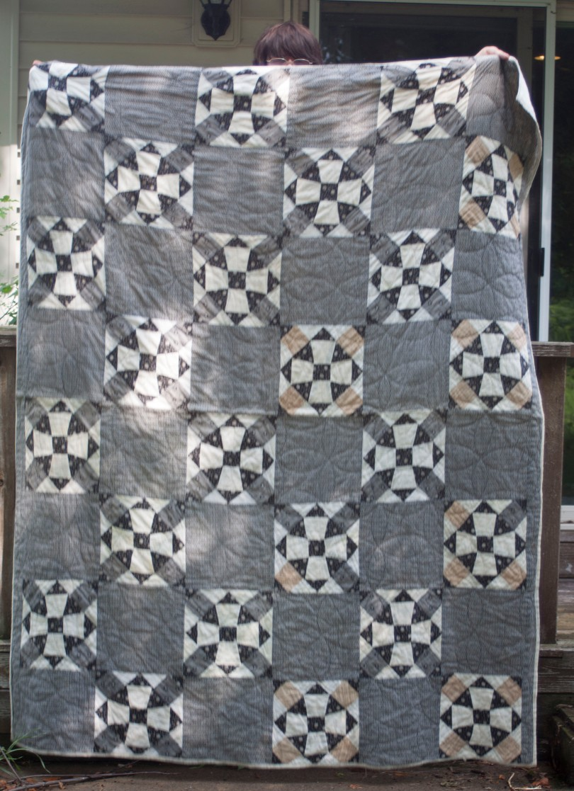 Black and White Quilt, ca. 1890