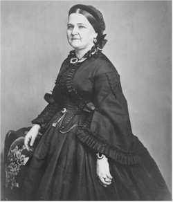 Mary Todd Lincoln, 1862.