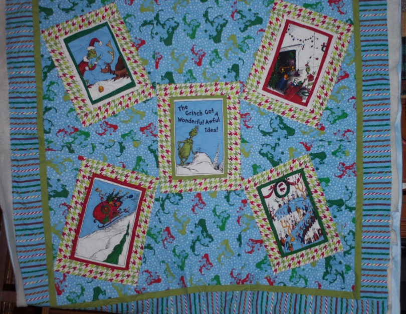 On the Longarm–The Grinch Stole Christmas in July – Lovelli